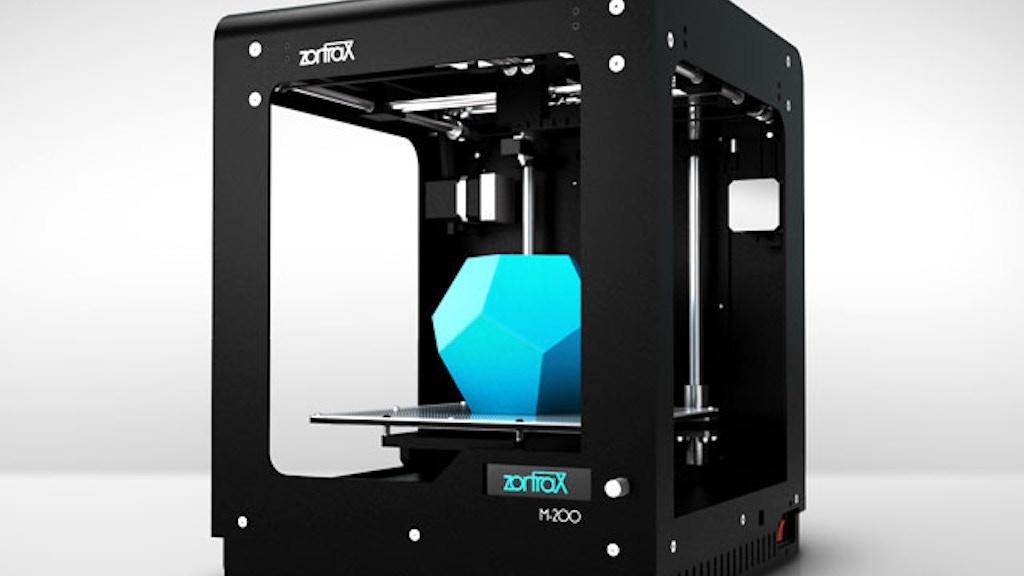 Zortrax M200 - professional desktop 3D printer project video thumbnail
