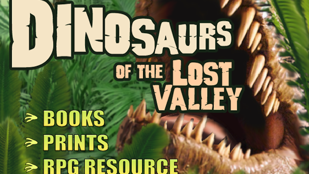 Dinosaurs of the Lost Valley project video thumbnail