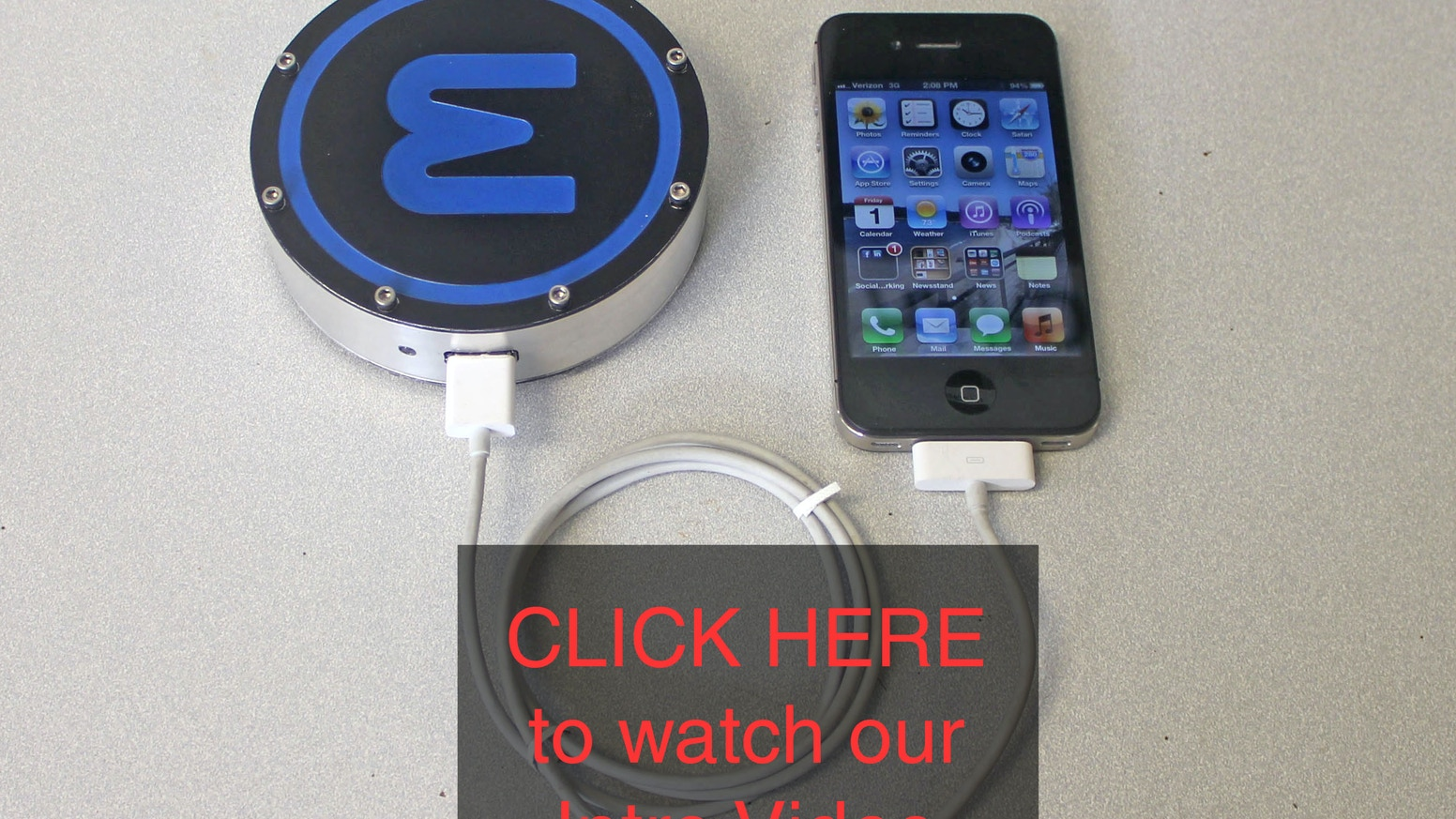 Epiphany One Puck By Labs Kickstarter Heat Engine Block Diagram With The Your Phone Will Never Die Again This Compact Simplify Life And Benefit World