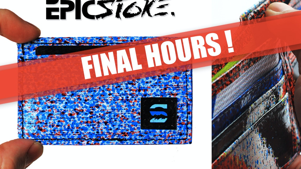 EPICSTOKE - A Wallet Worth a Thousand Words project video thumbnail