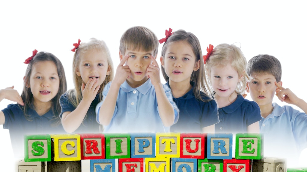 Scripture Talk - A DVD Making Bible Memory Fun for Children project video thumbnail