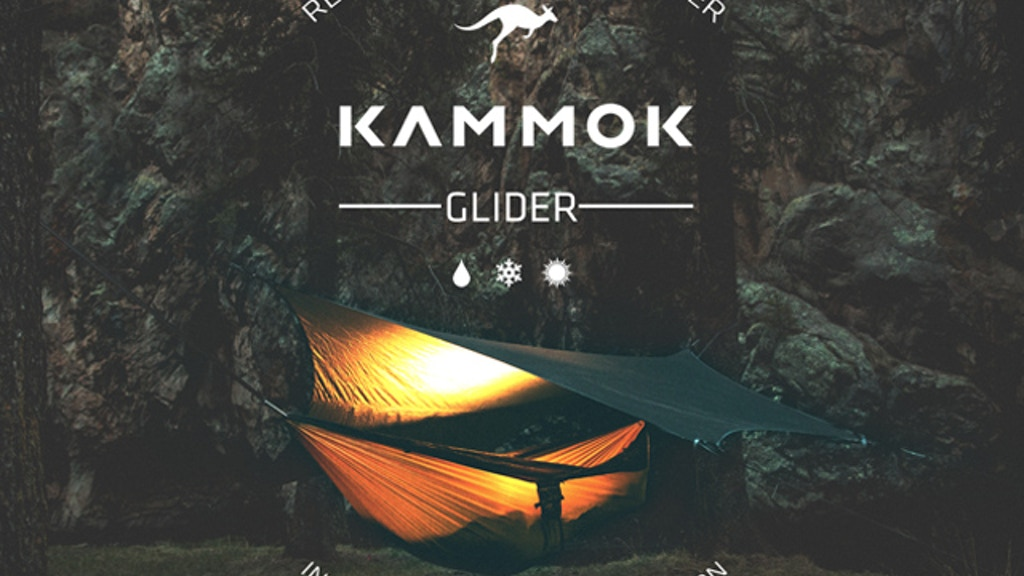 Kammok Glider: Rain Tarp & Weather Relief Shelter Redefined project video thumbnail