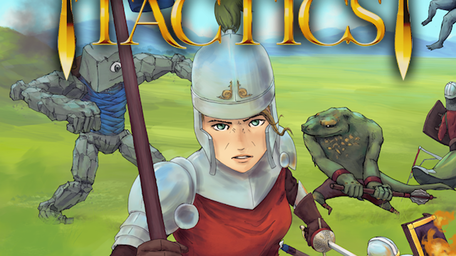 Fire Emblem-style tactical RPG with modding, custom campaigns, bridge-building, destructible battlefields, and hotseat multiplayer.