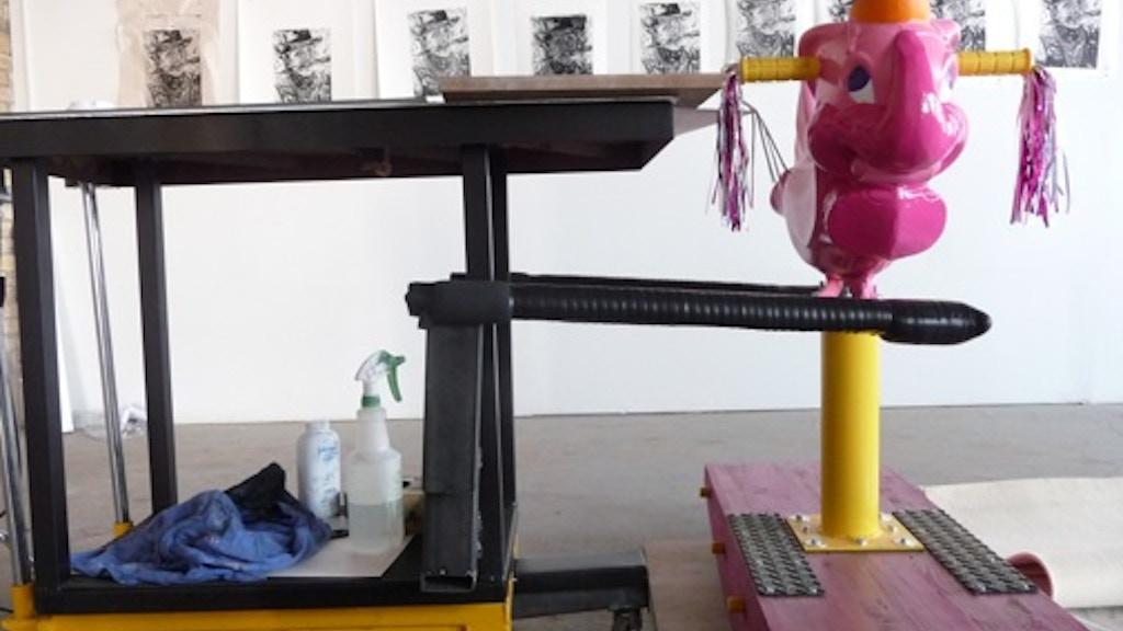 Bring Dumbo Press to San Anto Cultural Arts project video thumbnail