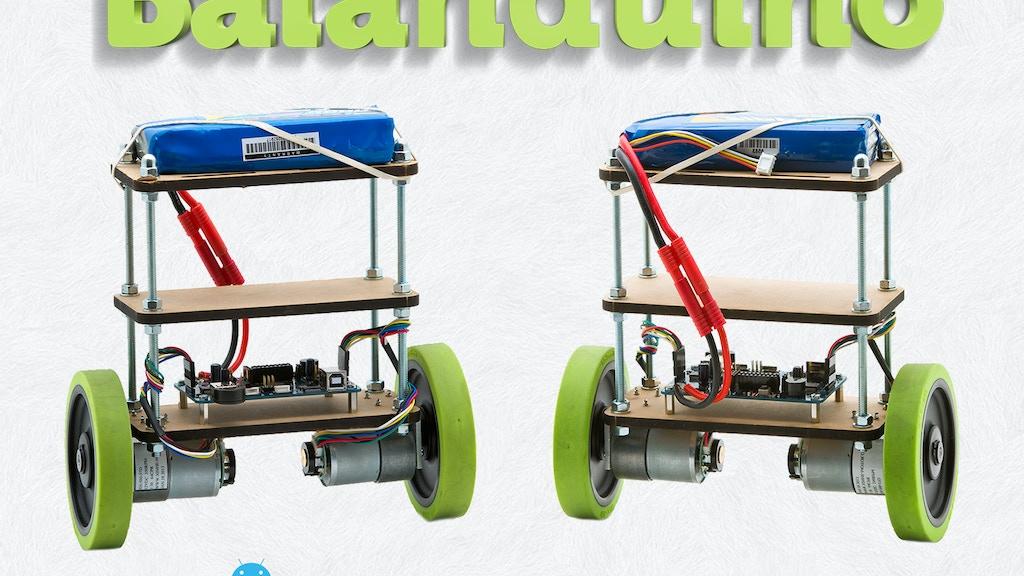 Balanduino - Balancing Robot Kit project video thumbnail