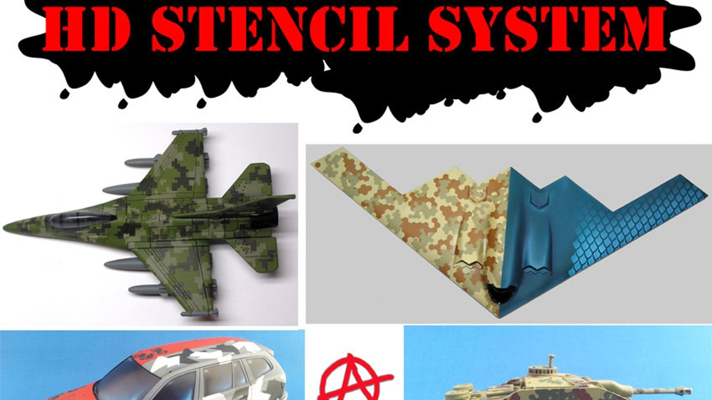 Anarchy Models -  HD Stencil System - for Camo and Detailing project video thumbnail