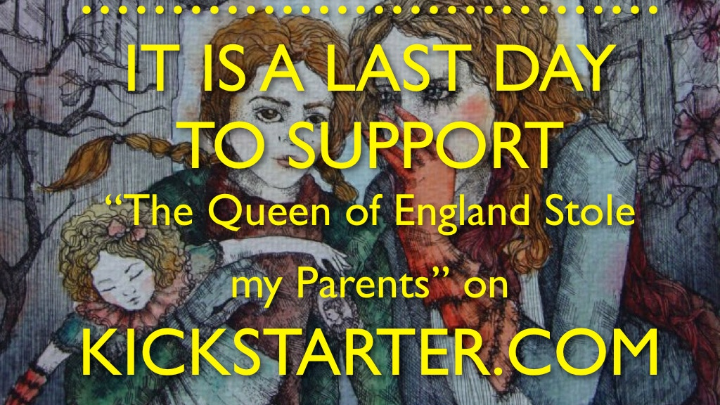 The Queen of England stole my parents project video thumbnail