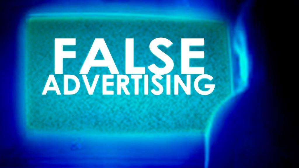 False Advertising project video thumbnail