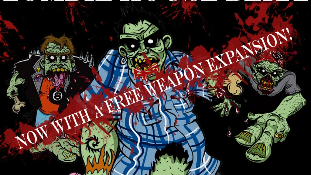 Zombie House Blitz - Tabletop Card Game project video thumbnail