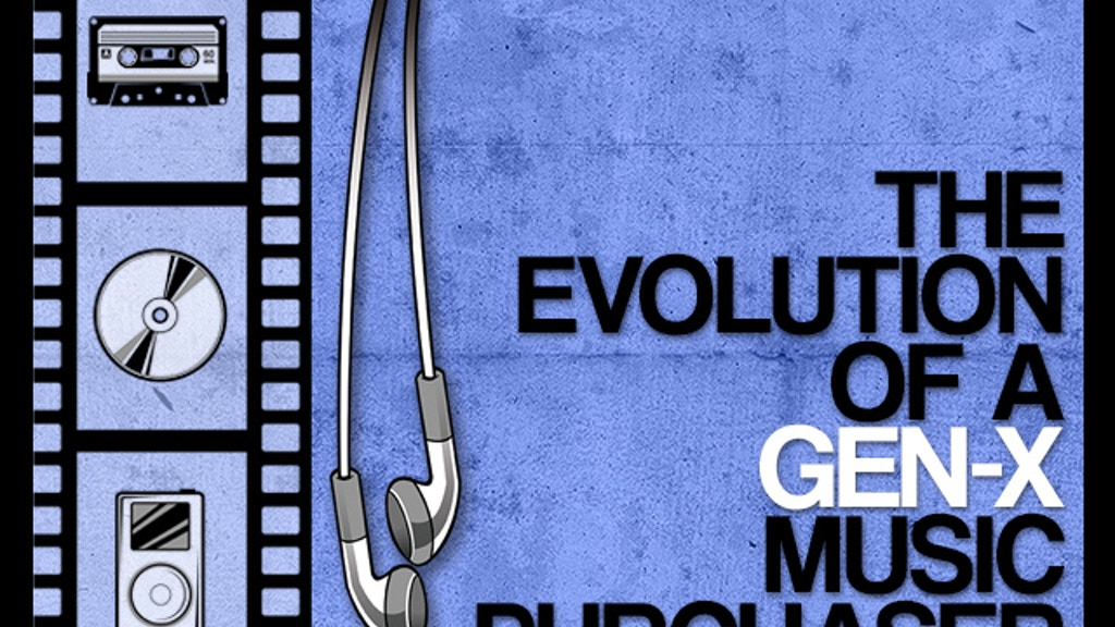 The Evolution of a Gen-X Music Purchaser   A Short Film project video thumbnail