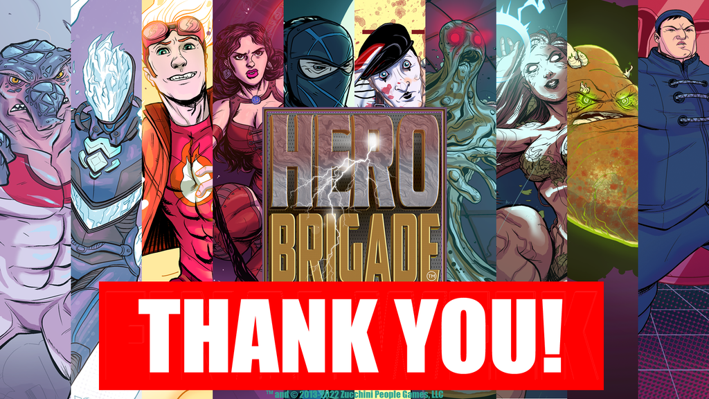 Hero Brigade: The Deck-Building & Card-Battling Game project video thumbnail