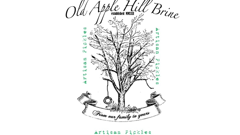 Old Apple Hill Brine | Artisan Pickles project video thumbnail
