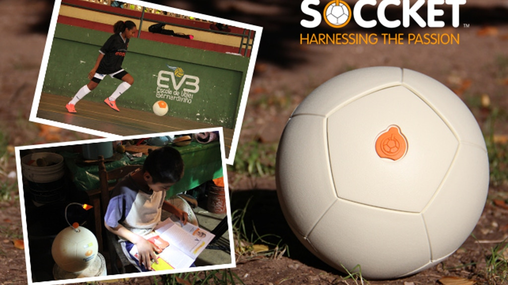 SOCCKET: The Energy-Harnessing Soccer Ball project video thumbnail