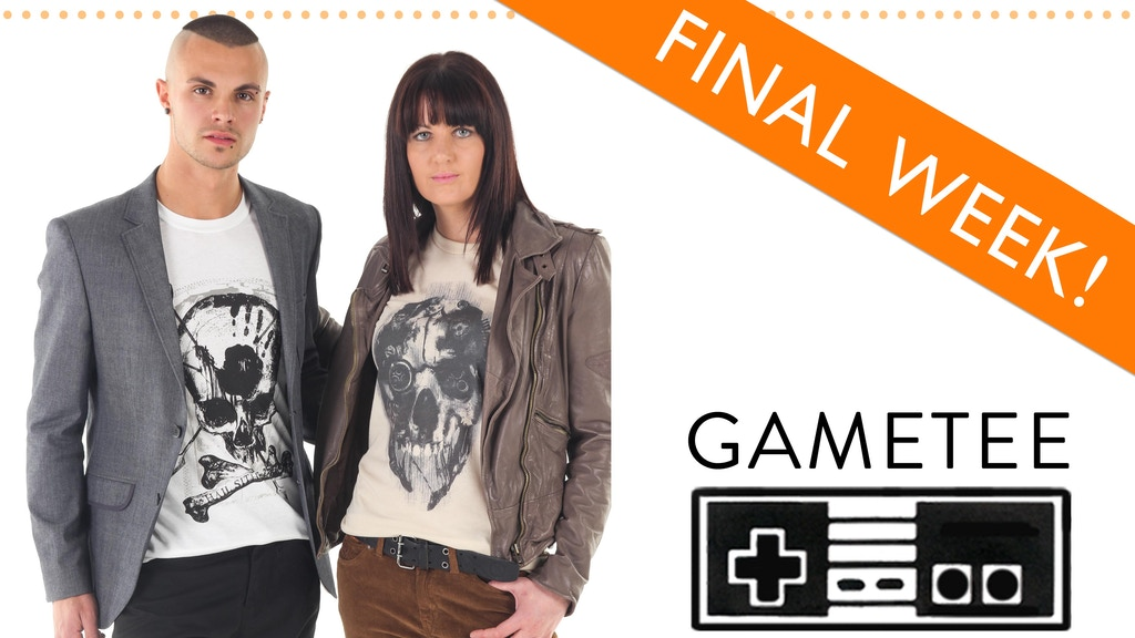 Gametee: Premium T-Shirts for Video Gamers project video thumbnail