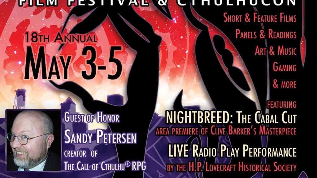 H.P. Lovecraft Film Festival & CthulhuCon (Portland, OR) project video thumbnail