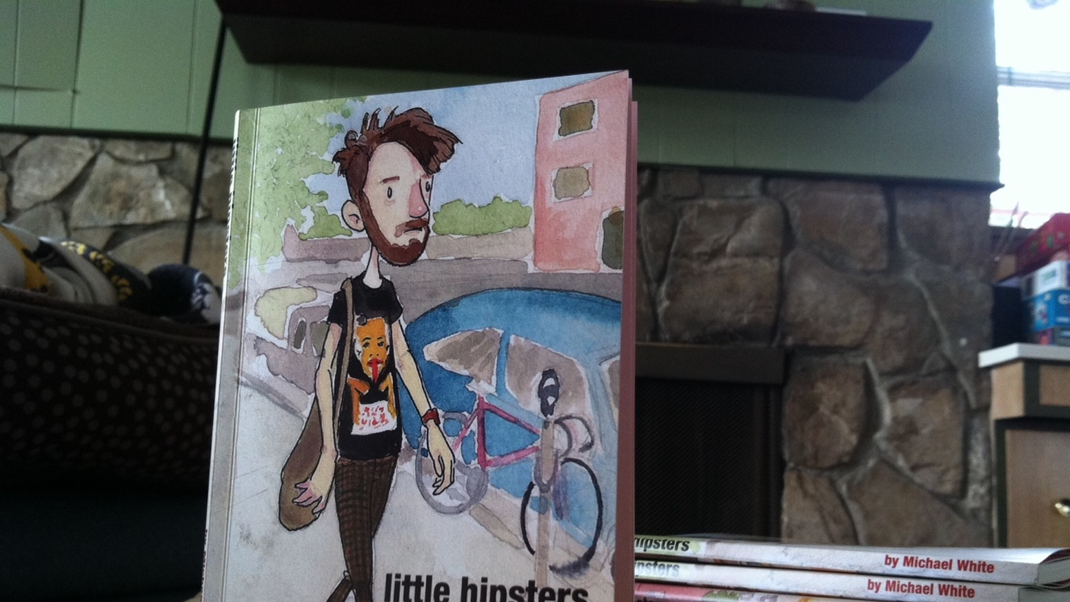 Little hipsters book by michael white