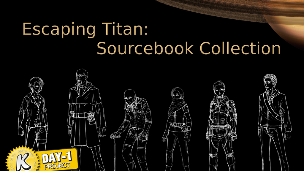 Escaping Titan - Sourcebook Collection project video thumbnail