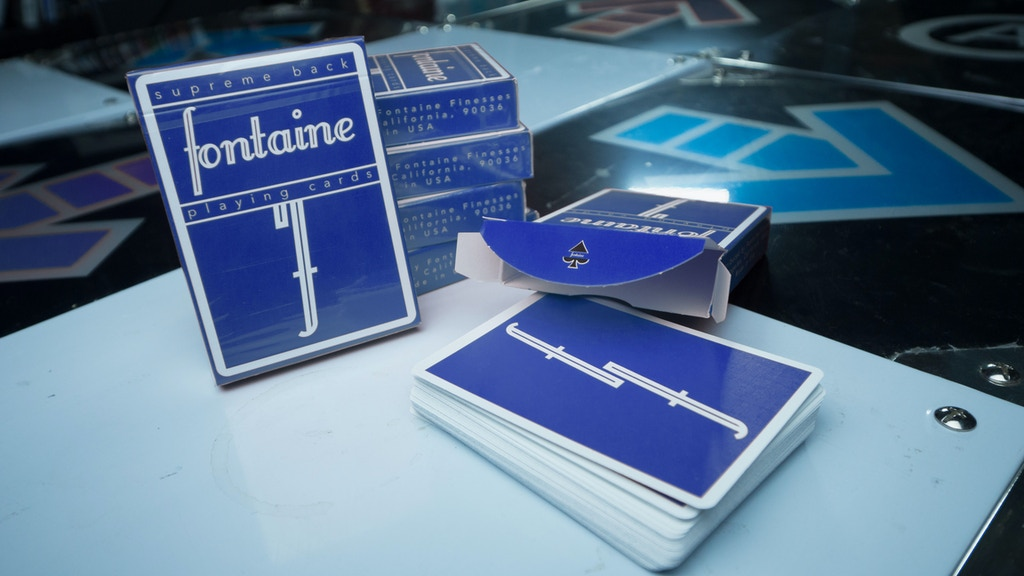 Blue Fontaine Playing Cards project video thumbnail