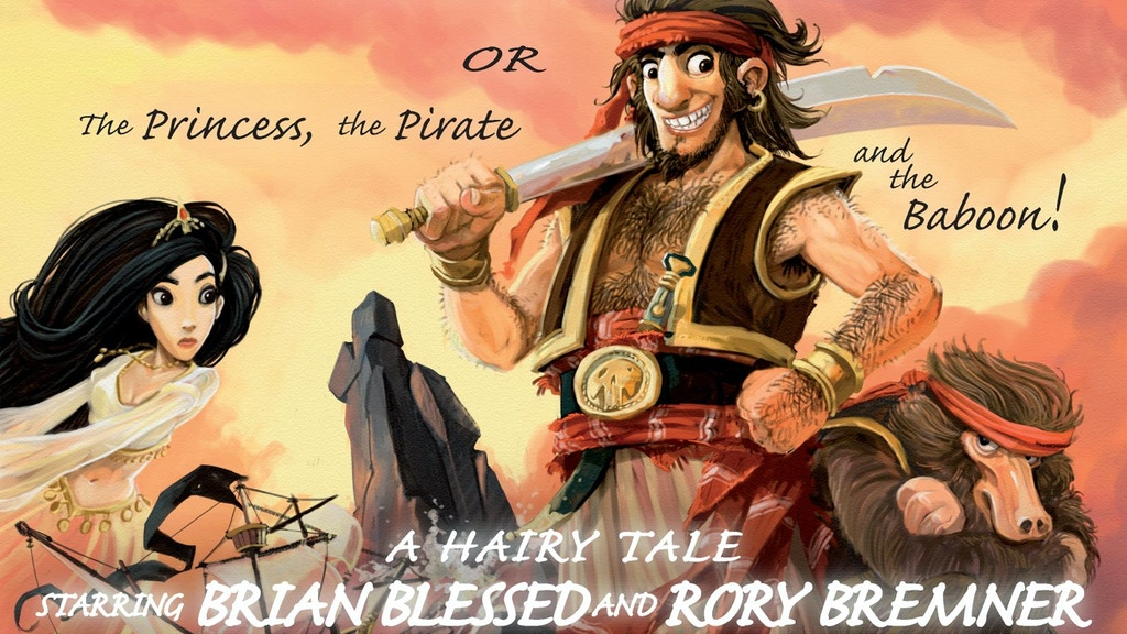 BRIAN BLESSED & RORY BREMNER in SHEHERAZADE! project video thumbnail