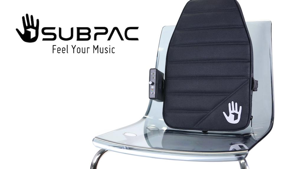 SubPac - Portable Tactile Audio Technology project video thumbnail