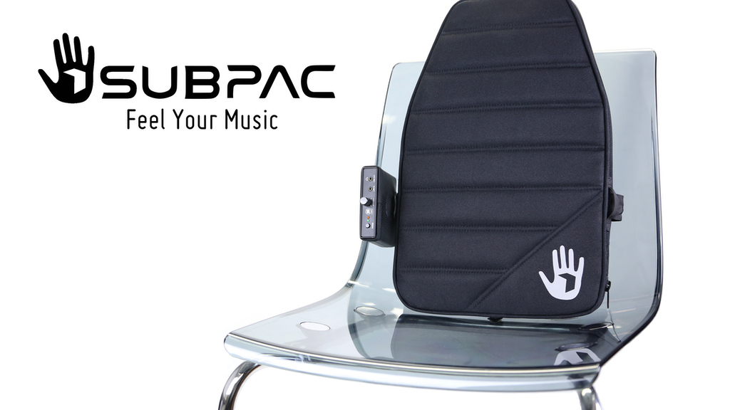 SubPac - Portable Tactile Audio Technology project video thumbnail
