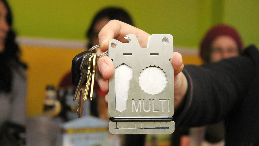 The MULTI. The First Multi-Tool Wallet! project video thumbnail