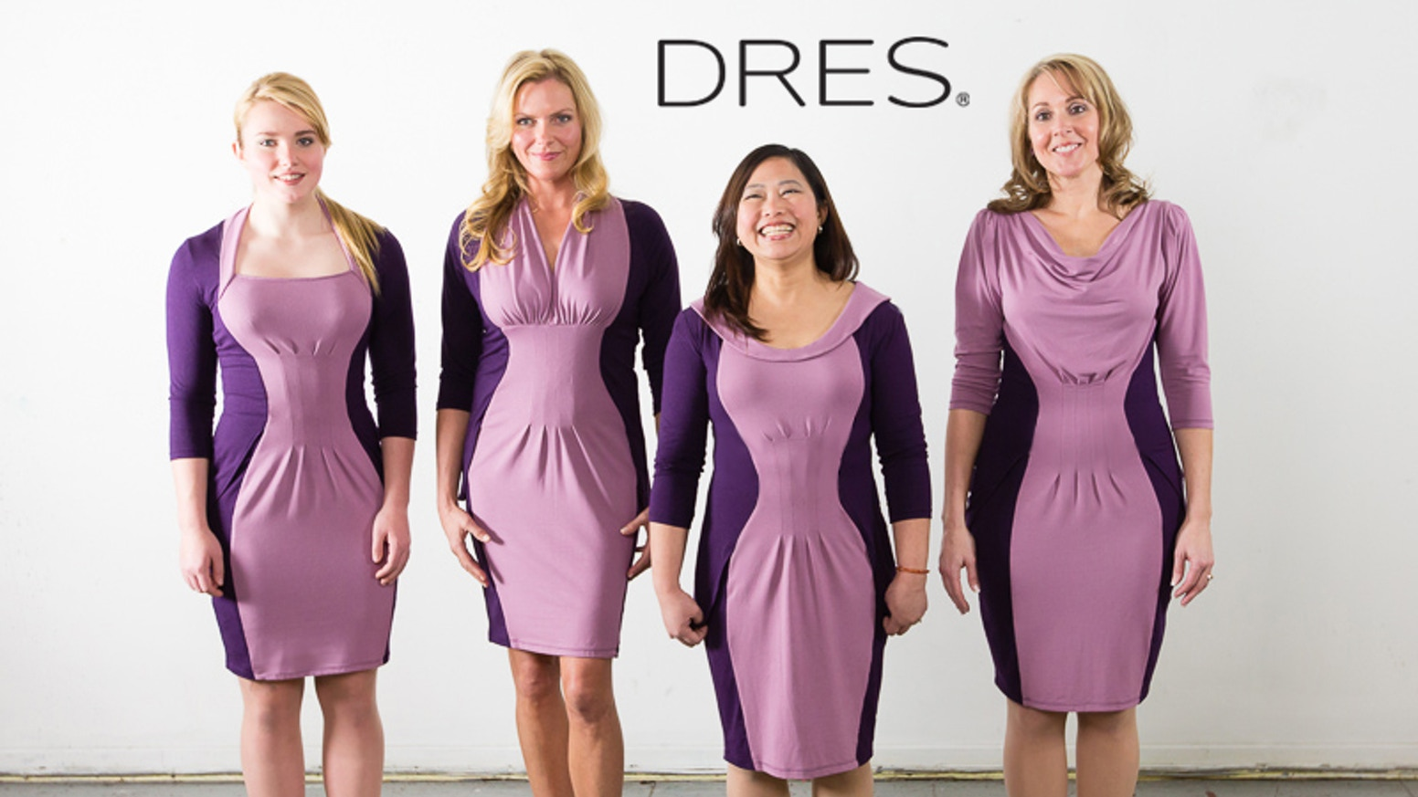 Women S Dresses Strategically Designed To Fit And Enhance Four Basic Body Shapes Made In The Usa With Organic Bamboo Fabric