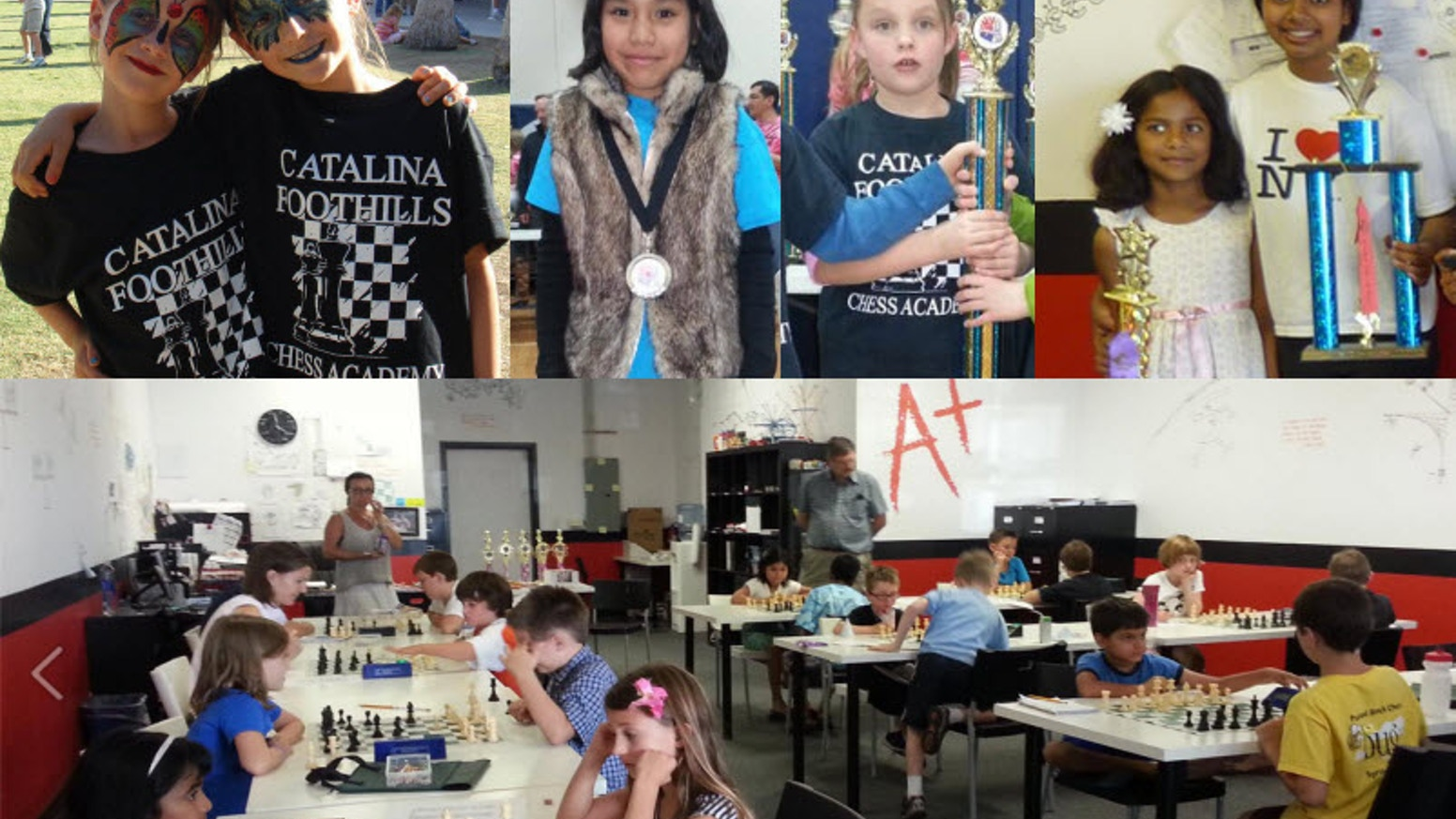 1st CHESS & SCIENCE FESTIVAL & All-Girls Tournament in Tucson. April 13, 2013. Funds are needed to organize the event.