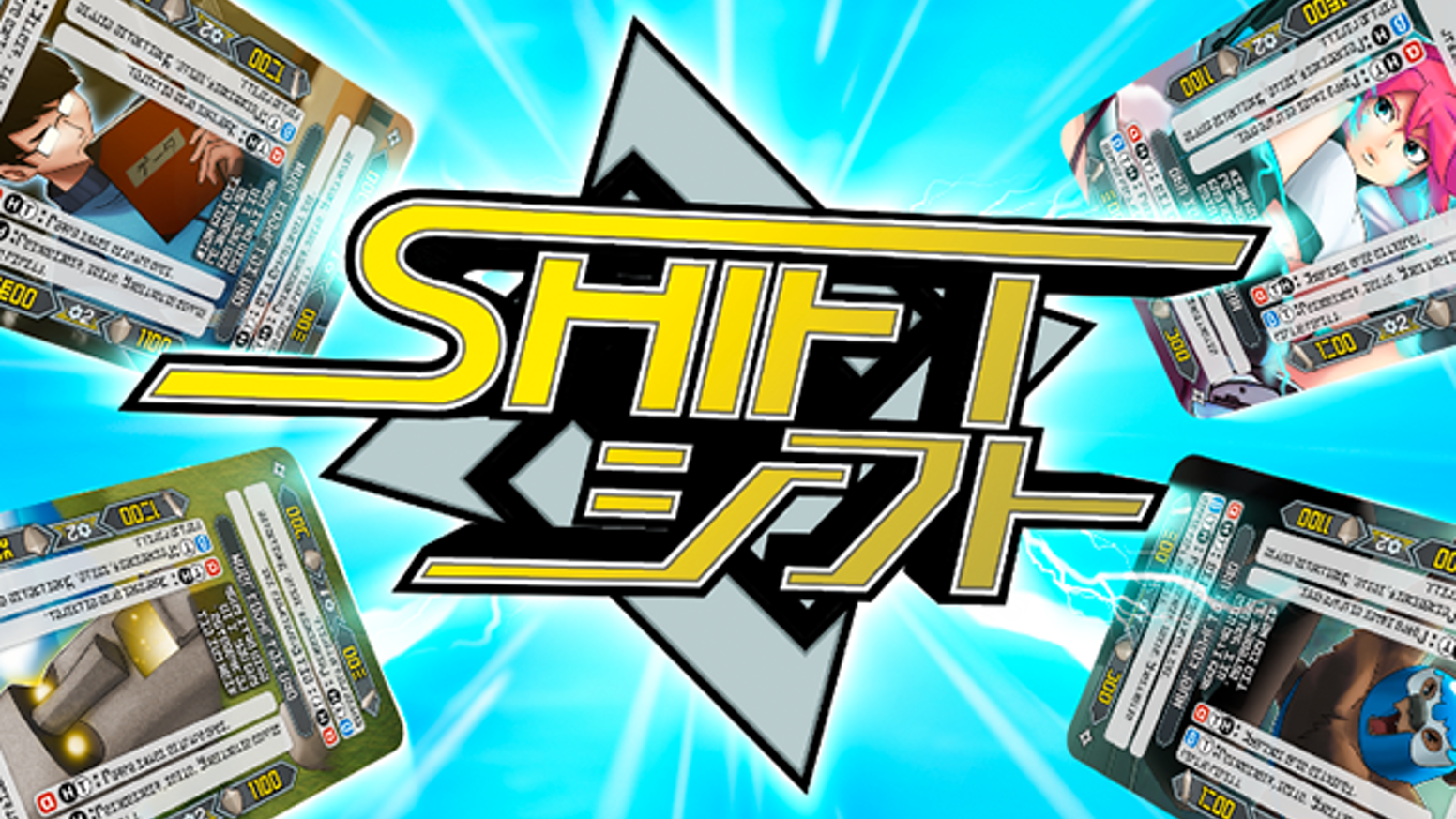 Shift is the collectable card game where you only need to collect one card! Let your spirit burn as you shift gears towards victory!