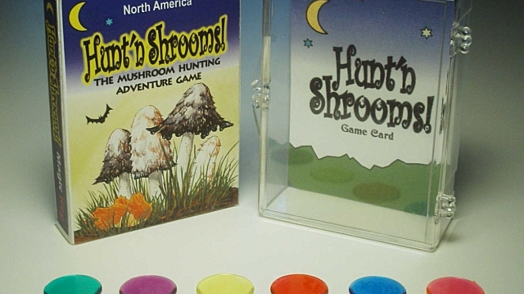 Project image for Hunt'n Shrooms! The Mushroom Hunting Game, Cards + Art
