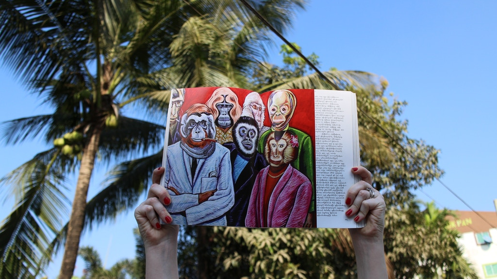 MYANMAR ART in TRANSLATION: Perspectives Post-Censorship project video thumbnail