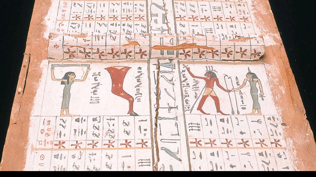 The Ancient Egyptian Daybook project video thumbnail