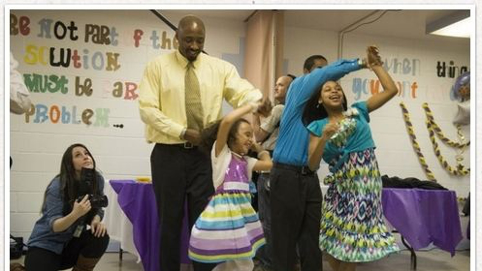 Locked In NOT Locked Out (A Father-Daughter Dance in Prison