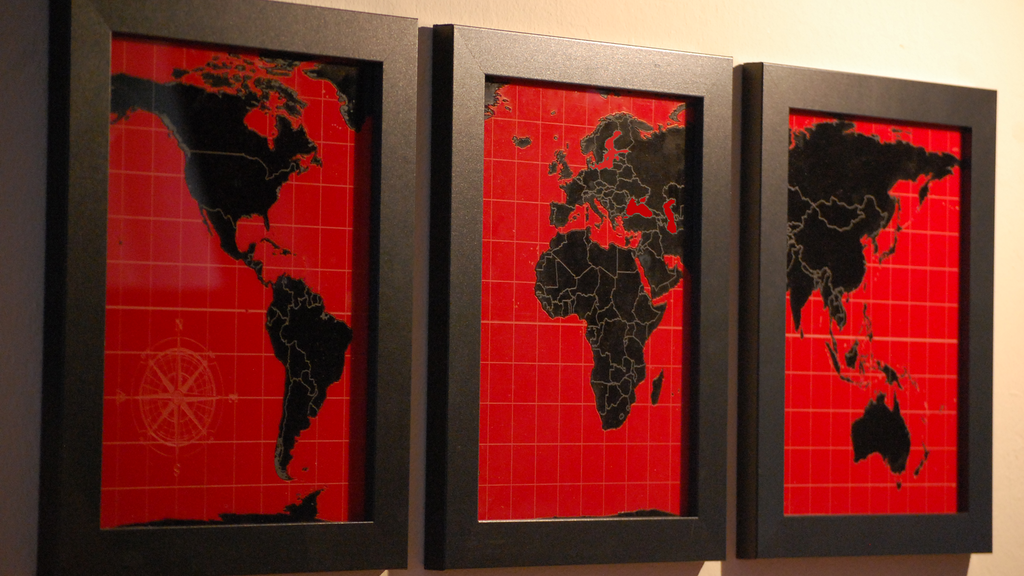 Dream Series: Laser Engraved Wall Maps for Dreamers project video thumbnail