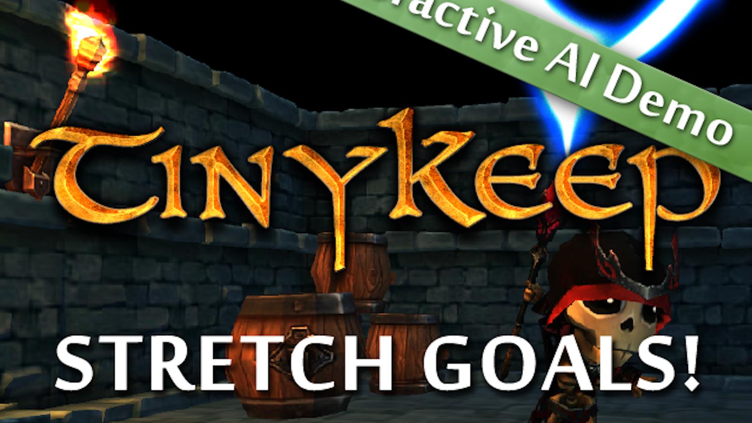 TinyKeep - AI Focused Dungeon Crawler by Phi Dinh — Kickstarter