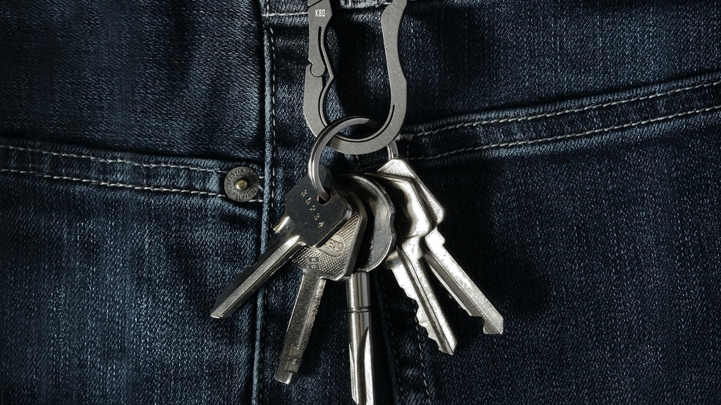 BAUHAUS:  Titanium Keychain / Key Carabiner project video thumbnail