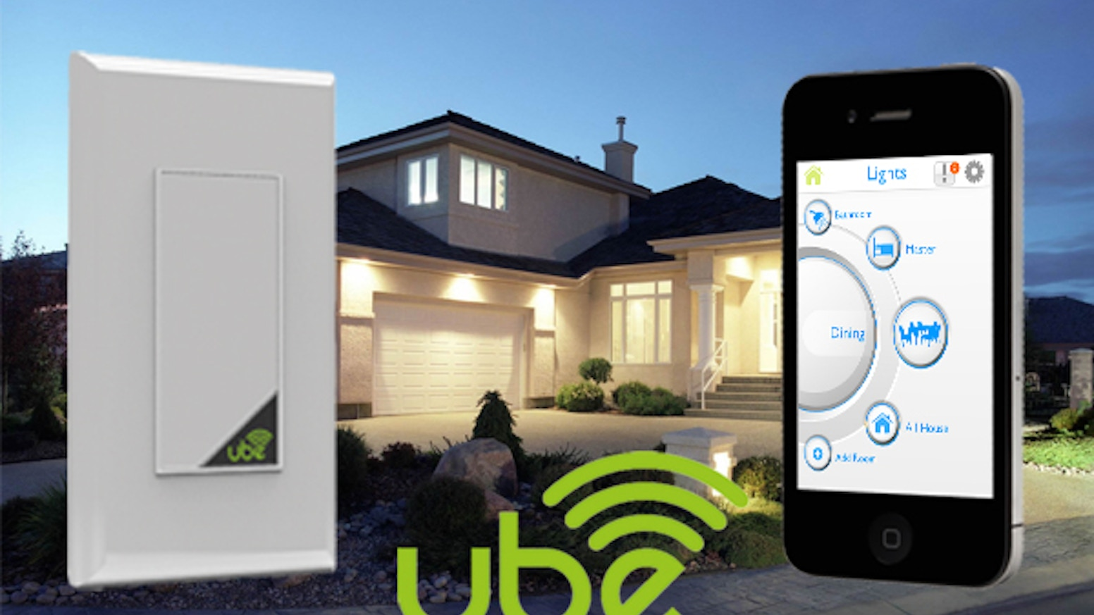 The most advanced home lighting control available - all on Wi-Fi