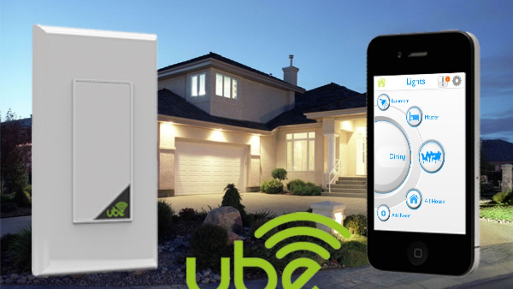 Ube WiFi Connected Smart Light Dimmer project video thumbnail