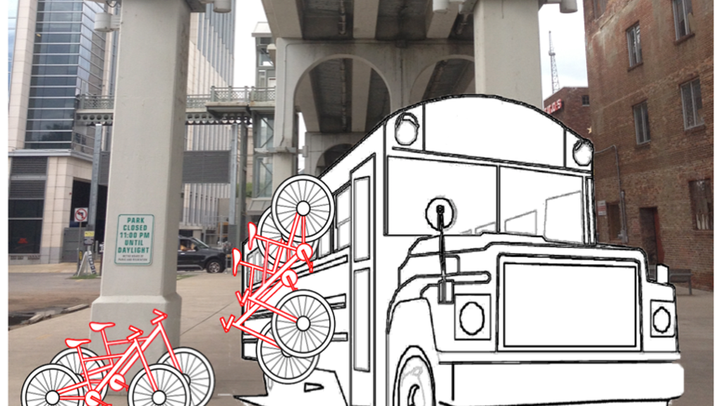 The Bicycle Bus project video thumbnail