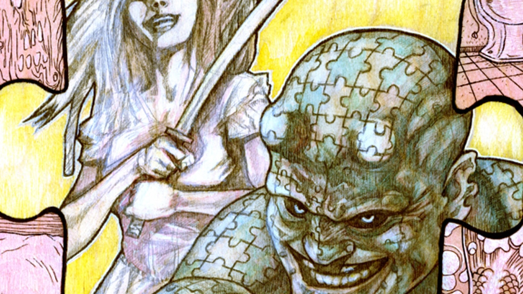 THE ENIGMA & SERANA ROSE in SHOW DEVILS #2 Comic Book project video thumbnail