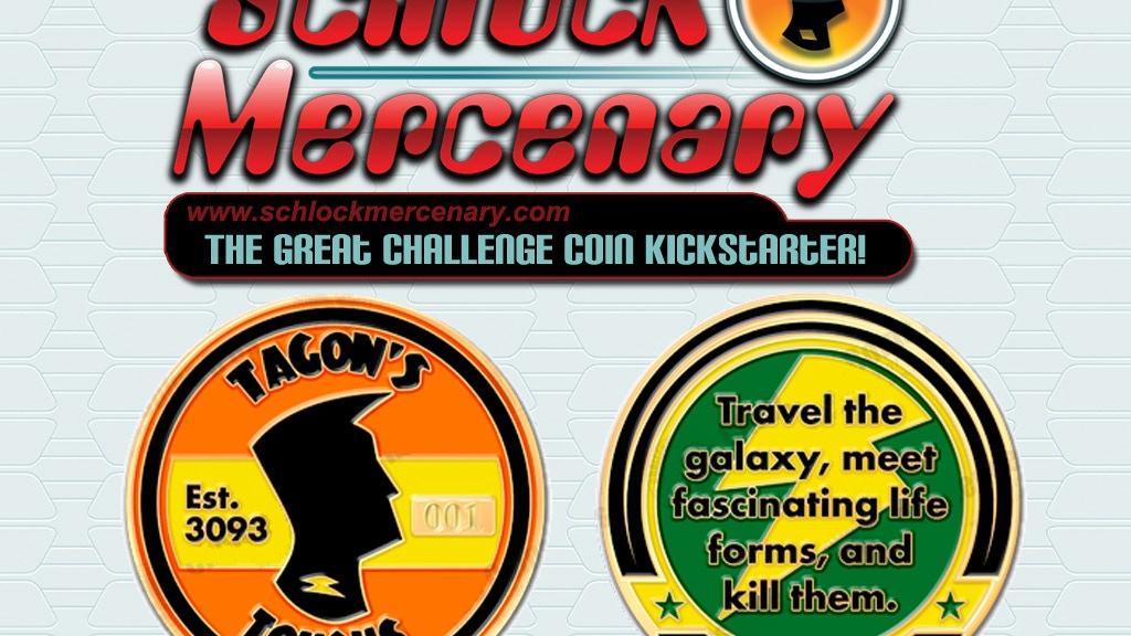Schlock Mercenary Challenge Coins project video thumbnail