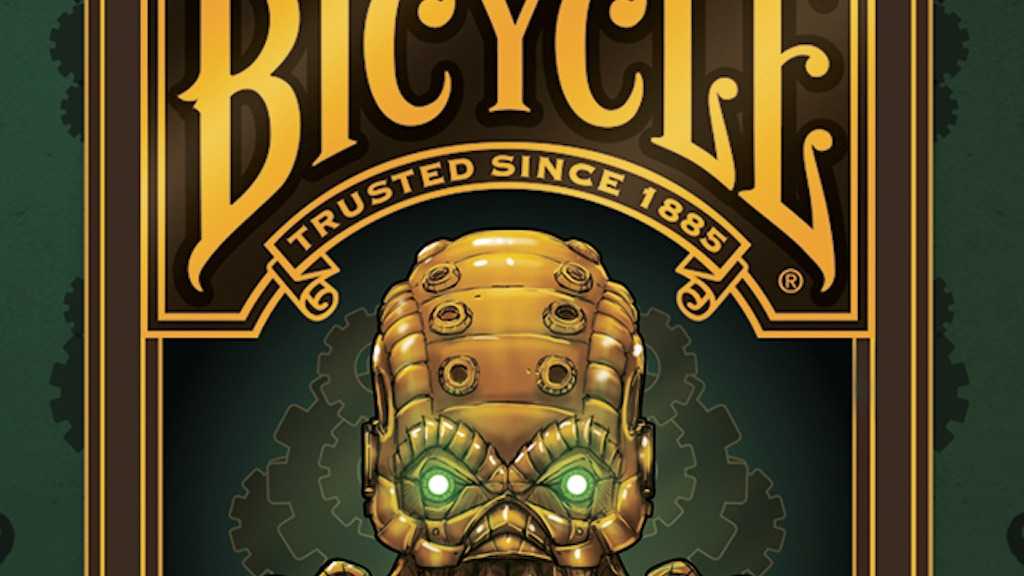 Steampunk Cthulhu Bicycle® Playing Cards project video thumbnail