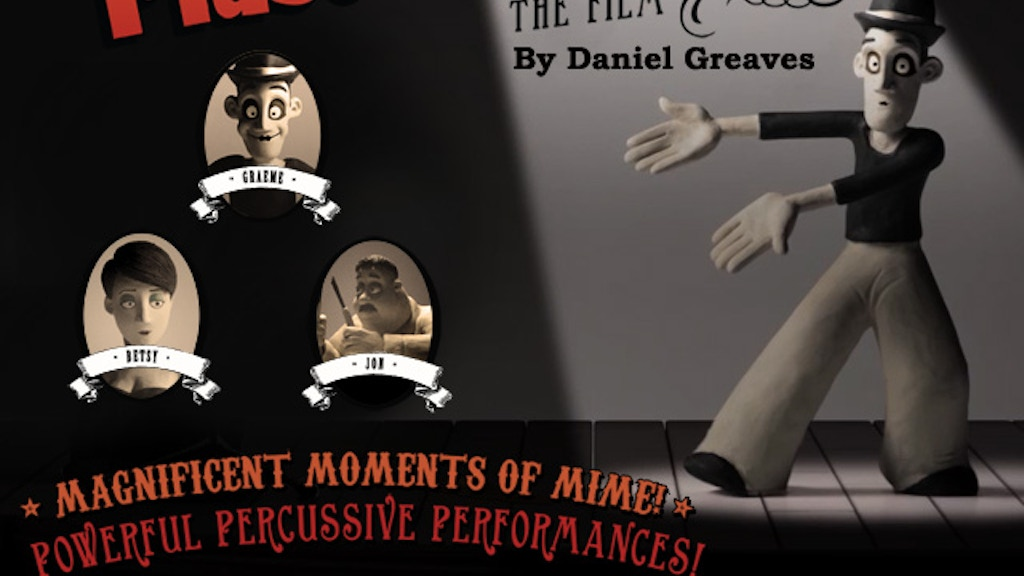 Daniel Greaves' 'Mr. Plastimime' - A Claymation Short Film project video thumbnail