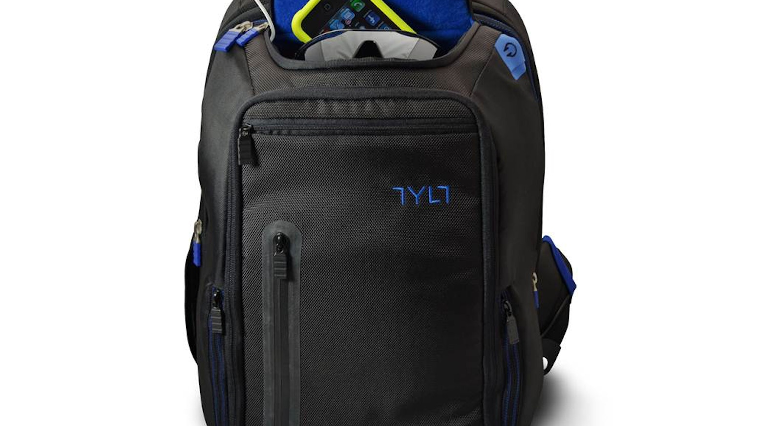 A lightweight backpack that can charge your smartphone 4 times or an iPad  one full charge ce4ce51e269be