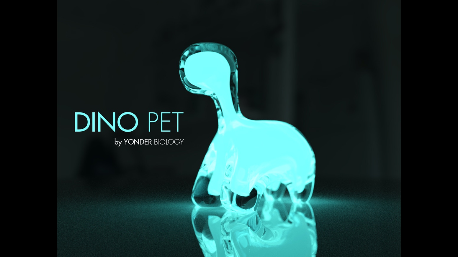 Dino Pet A Living Interactive Bioluminescent Pet By