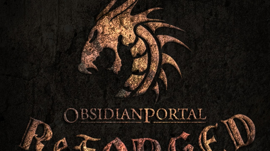 Obsidian Portal Reforged project video thumbnail