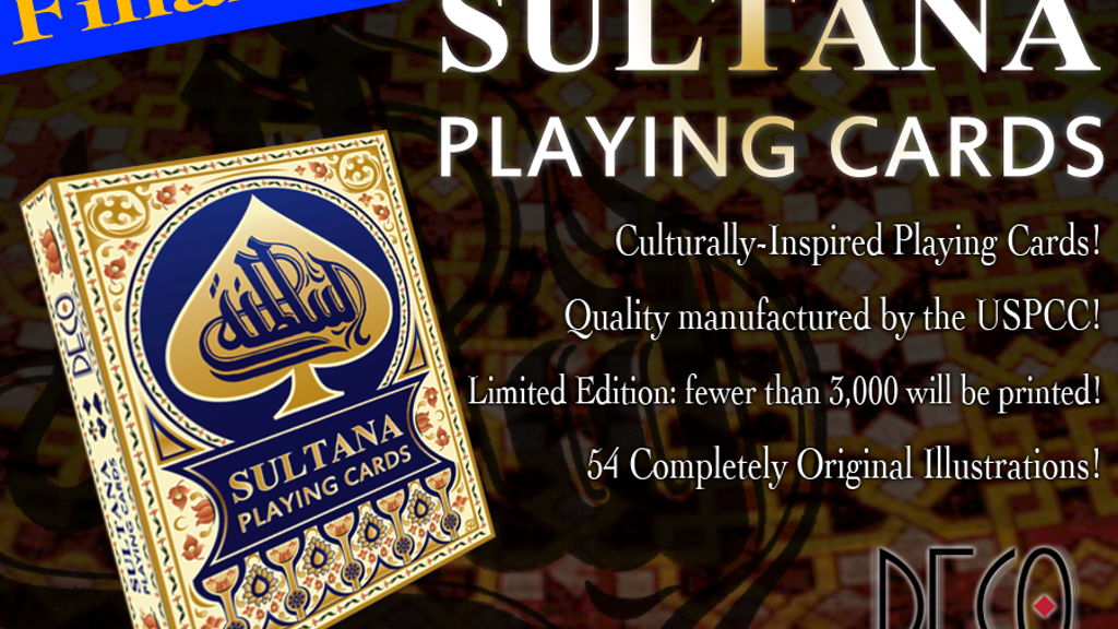 """Sultana"" Playing Cards, inspired by ancient deck! USPCC project video thumbnail"