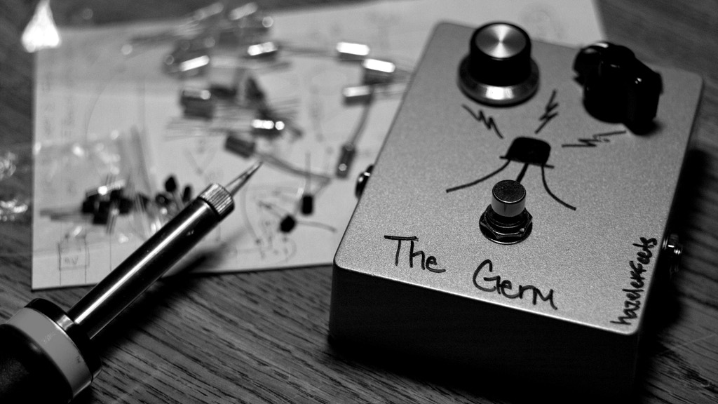 """The Germ"" Boutique Handwired Hybrid Guitar Fuzz Pedal project video thumbnail"