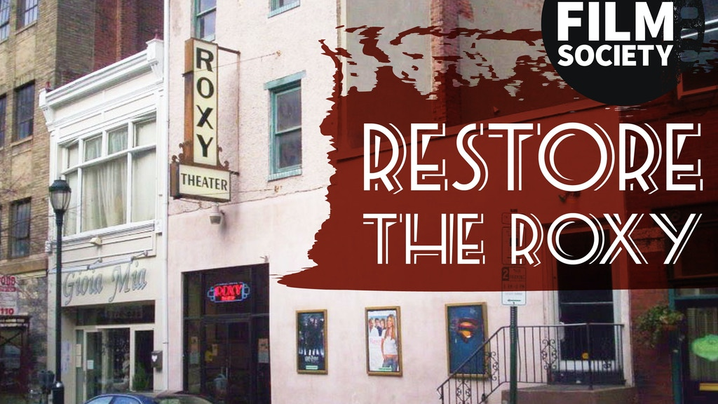 Restore the Roxy project video thumbnail