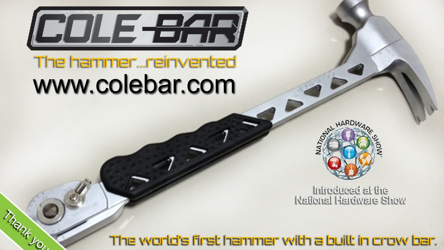 The Cole-Bar Hammer by Lance, Brandon, Heather Hyde — Kickstarter